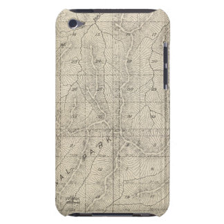 T1415S R3031E Tulare County Section Map iPod Touch Cover