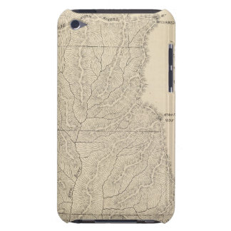 T1417S R3235E Tulare County Section Map iPod Touch Case