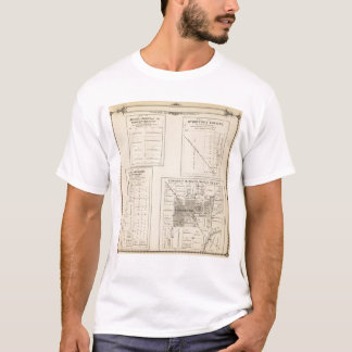T16S R22E Tulare County Section Map T-Shirt