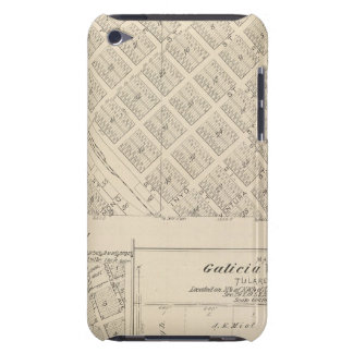 T16S R24E Tulare County Section Map iPod Case-Mate Cases