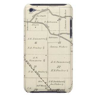 T17S R25E Tulare County Section Map iPod Touch Case-Mate Case