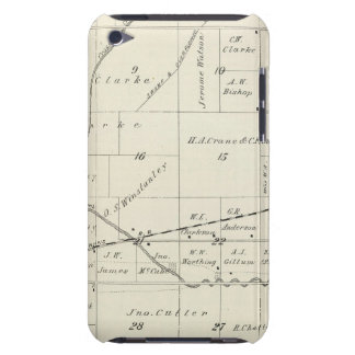 T18S R23E Tulare County Section Map iPod Touch Covers