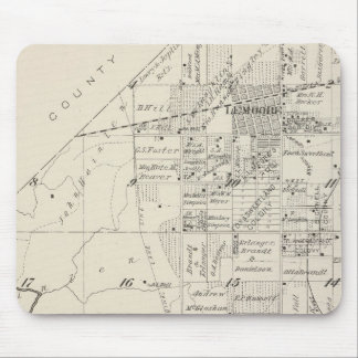 T19S R20E Tulare County Section Map Mouse Mat