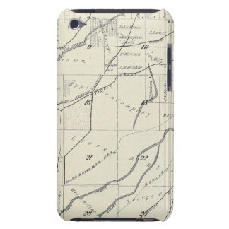 T19S R25E Tulare County Section Map iPod Touch Cases