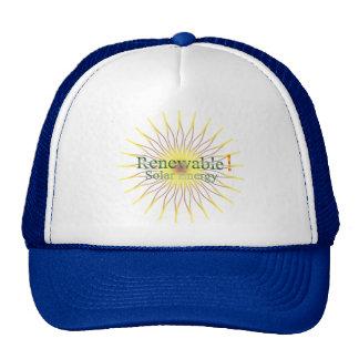 T21a Renewable  Solar Energy Hats