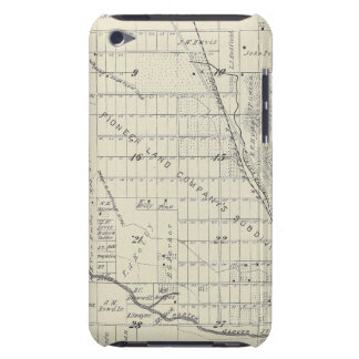 T21S R27E Tulare County Section Map iPod Touch Cover