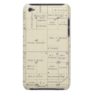 T22S R24E Tulare County Section Map iPod Touch Cases