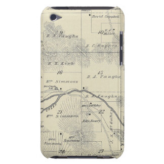 T22S R28E Tulare County Section Map Barely There iPod Case
