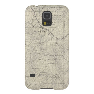 T22S R29E Tulare County Section Map Galaxy S5 Cover