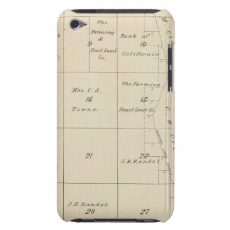 T24S R20E Tulare County Section Map iPod Touch Case-Mate Case