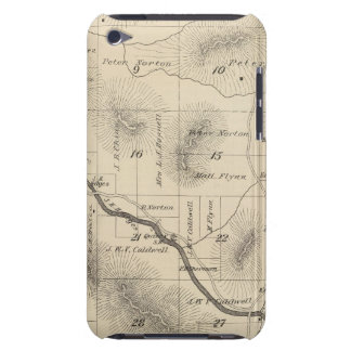 T24S R28E Tulare County Section Map Case-Mate iPod Touch Case