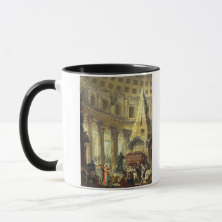 T28516 Alexander the Great visiting the Tomb of Ac Mug