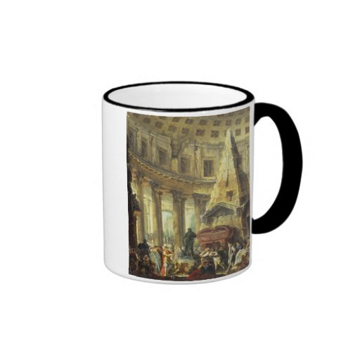 T28516 Alexander the Great visiting the Tomb of Ac Mugs