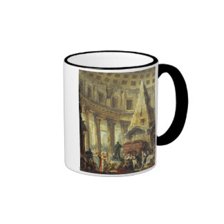 T28516 Alexander the Great visiting the Tomb of Ac Ringer Mug