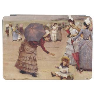 T29836 Elegant Figures on a Beach, 1886 iPad Air Cover