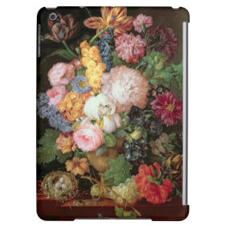 T30763 A Still Life of Flowers and Fruit (panel)