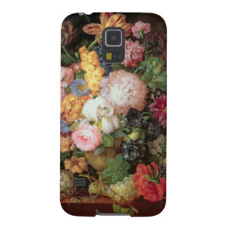 T30763 A Still Life of Flowers and Fruit (panel) Case For Galaxy S5