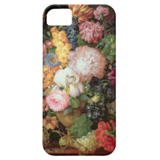 T30763 A Still Life of Flowers and Fruit (panel) Case For The iPhone 5