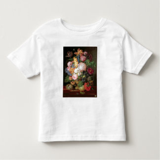 T30763 A Still Life of Flowers and Fruit (panel) Toddler T-Shirt