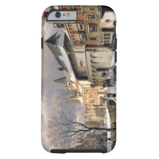T31117 A View of a Dutch Town in Winter Tough iPhone 6 Case