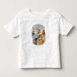 T31130 Two Monks Fighting, 1690 (w/c, ink, chalk) Toddler T-Shirt