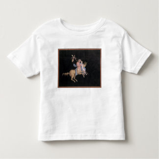 T31144 Chiron Instructing Achilles in the Art of M Tshirt