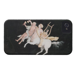 T31466 A Female Centaur and Companion Making Music iPhone 4 Case-Mate Cases