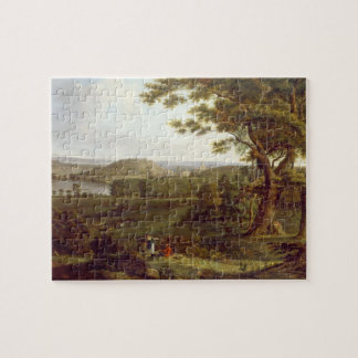 T31507 View from the North West of Castle Howard, Jigsaw Puzzle