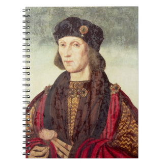 T31778 Portrait of Henry VII (1457-1509) Note Book