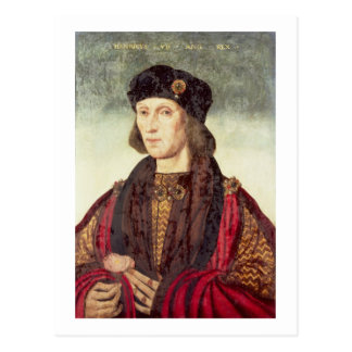 T31778 Portrait of Henry VII (1457-1509) Postcard