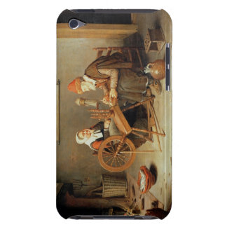 T31883 An interior with a old woman at a spinning iPod Case-Mate Case