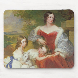 T32011 Portrait of Mrs Sarah Frances Cooper and he Mouse Mat