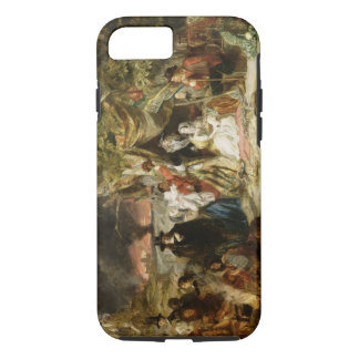 T32191 Highgate Fields During the Great Fire of Lo iPhone 7 Case