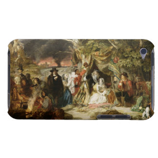 T32191 Highgate Fields During the Great Fire of Lo iPod Case-Mate Case