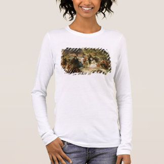 T32191 Highgate Fields During the Great Fire of Lo Long Sleeve T-Shirt