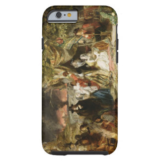 T32191 Highgate Fields During the Great Fire of Lo Tough iPhone 6 Case
