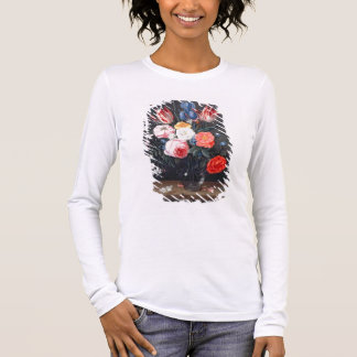 T32511 Still Life of Flowers in a Vase, 1661 (see Long Sleeve T-Shirt