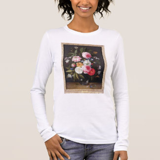 T32512 Still Life of Flowers in a Vase, 1661 (see Long Sleeve T-Shirt