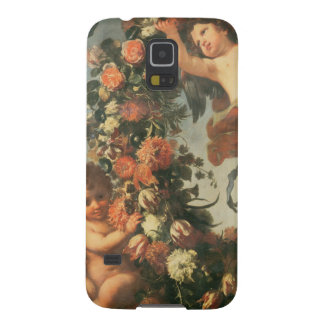 T32714 Two Putti Supporting a Flower Garland Galaxy S5 Case