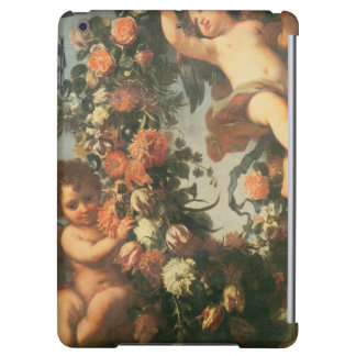 T32714 Two Putti Supporting a Flower Garland iPad Air Cases
