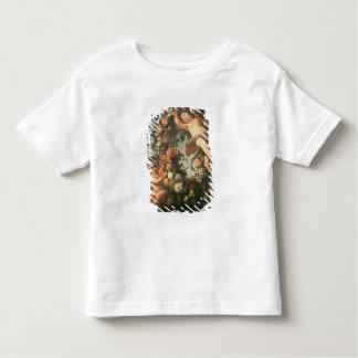 T32714 Two Putti Supporting a Flower Garland Toddler T-Shirt