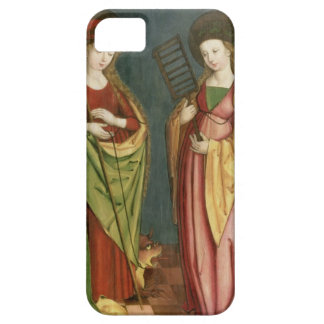T32982 St. Margaret of Antioch and St. Faith, c.15 Barely There iPhone 5 Case