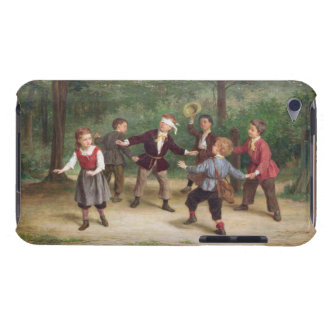 T33268 Blind Man's Buff 91316me; children; playing Barely There iPod Case