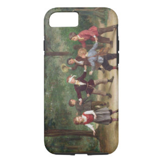 T33268 Blind Man's Buff 91316me; children; playing iPhone 8/7 Case