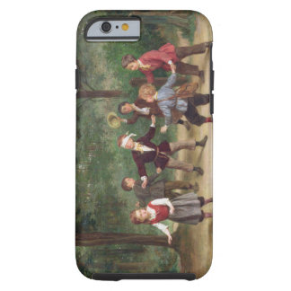 T33268 Blind Man's Buff 91316me; children; playing Tough iPhone 6 Case