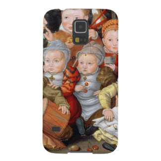 T33337 Portrait of a mother with her eight childre Case For Galaxy S5