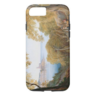 T33412 Landscape with View of Lerici, 1880 iPhone 8/7 Case