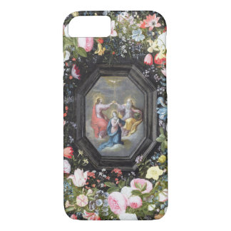 T33453 The Coronation of the Virgin surrounded by iPhone 7 Case