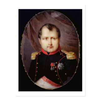 T34002 Portrait Miniature of Napoleon I (1769-1821 Postcard
