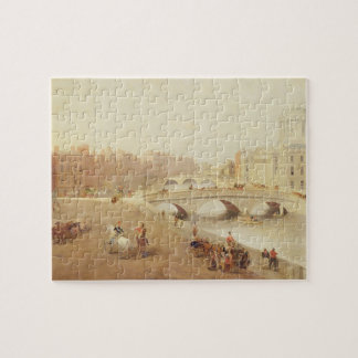 T34018 The River Liffey and the Law Courts, Dublin Jigsaw Puzzle